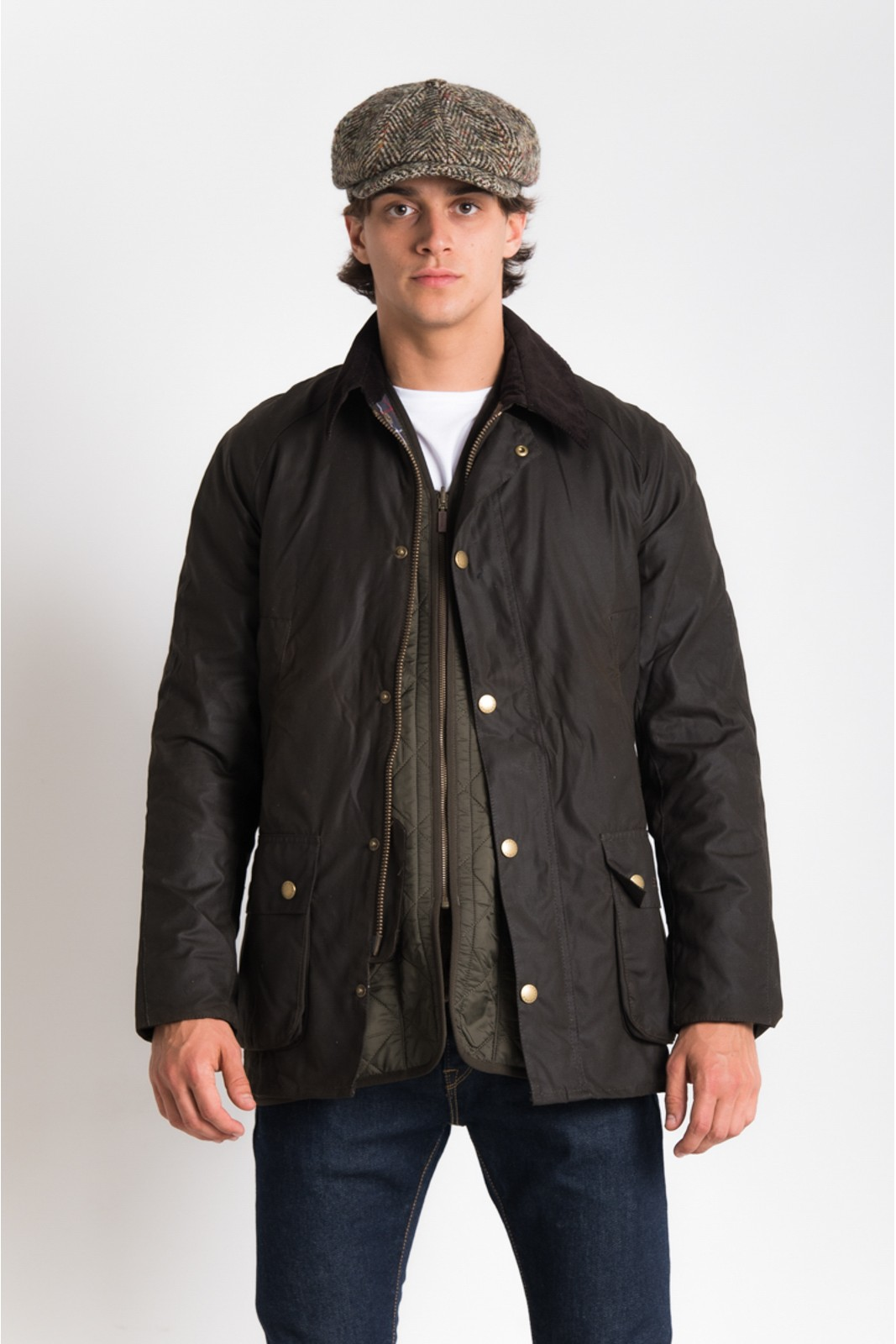 Barbour Ashby Wax jacket Sage
